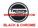 Triumph Hydraulic Transfer Chrome and Black